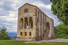 Church of Santa Maria del Naranco Stock Image