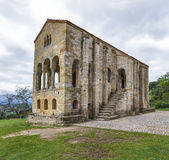 Church of Santa Maria del Naranco Royalty Free Stock Photos