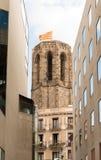 Church Santa Maria del Pi, Barcelona, Spain Royalty Free Stock Photo