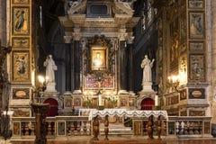 The church Santa maria del popolo in Rome, Italy Stock Photo