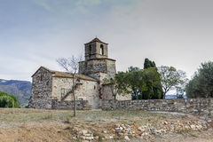 Church of Santa Maria del Puig, Esparreguera Stock Photos