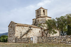 Church of Santa Maria del Puig, Esparreguera Royalty Free Stock Images