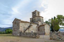 Church of Santa Maria del Puig, Esparreguera Royalty Free Stock Images