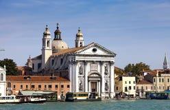 Church Santa Maria del Rosario in Italy, Venice Stock Photography