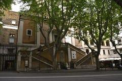 The Church of Santa Maria della Concezione dei Cappuccini in Rome Italy Royalty Free Stock Images