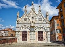 Church Santa Maria della Spina Pisa Italy royalty free stock photography