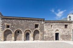 Church Santa Maria Delle Grazie in Castelsardo, Royalty Free Stock Photo