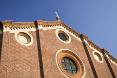 Church Santa Maria delle Grazie - Milan - Italy Stock Photos