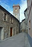 Church of Santa Maria dels Socors-Catalonia Stock Images