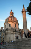 Church Santa Maria di Loreto Royalty Free Stock Photos