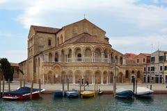 Church of Santa Maria e Donato in Murano - Italy. Stock Image