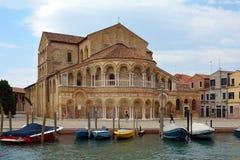 Church of Santa Maria e Donato in Murano - Italy. Stock Images