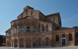 Church of Santa Maria e San Donato Stock Images