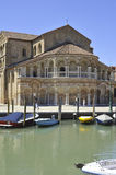 Church of Santa Maria e San Donato in Murano Island Royalty Free Stock Photography