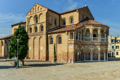 Church of Santa Maria e San Donato in Murano Island, Venice Lagoon. Image was taken on September 2014 in Italy Stock Image