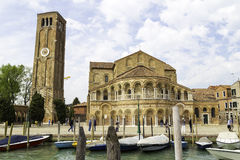 The Church of Santa Maria e San Donato is a religious edifice located in Murano Royalty Free Stock Image
