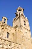 Church of Santa Maria, Ejea, Spain Stock Images