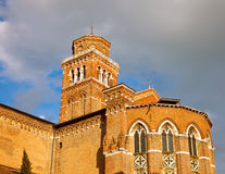 Church of Santa Maria Gloriosa dei Frari. Venice Royalty Free Stock Photography