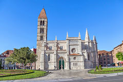 Church of Santa Maria La Antigua in Valladolid Stock Photography