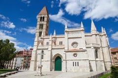 Church Santa Maria La Antigua in Valladolid Royalty Free Stock Image