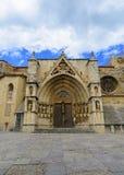 Church of Santa Maria la Mayor, Morella, Castellon province, Spa Royalty Free Stock Images