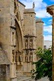 Church of Santa Maria la Mayor, Morella, Castellon province, Spa Royalty Free Stock Photo