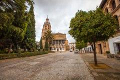 Church of Santa Maria la Mayor, Ronda, Spain Royalty Free Stock Photo