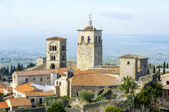 Church of Santa Maria la Mayor Trujillo, Spain Stock Photography