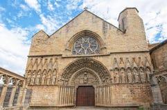 Church of Santa Maria la Real, Olite Royalty Free Stock Photos