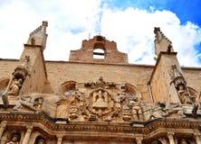Church of Santa Maria Maggiore (Montblanc) Royalty Free Stock Photos