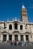 Church of Santa Maria Maggiore, Rome Stock Photo