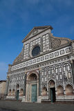 Church Santa Maria Novella. The church of Santa Maria Novella in Florence, Italy Stock Photos