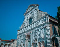 Church of Santa Maria Novella - famous landmark of Florence Italy Europe Stock Photos