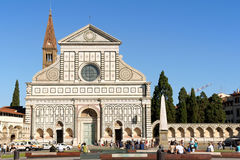 Church of Santa Maria Novella in Florence Royalty Free Stock Image