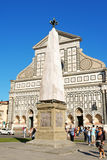 Church of Santa Maria Novella in Florence Stock Photo