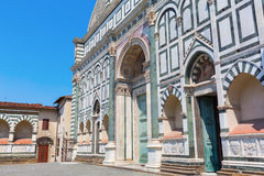 Church Santa Maria Novella in Florence, Italy Royalty Free Stock Images