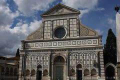 Church of Santa Maria Novella at morning in Florence, Tuscany, Italy Stock Photography
