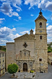 Church of Santa Maria, Orce Stock Photos