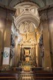 Church Santa Maria. Piazza del Popolo. Rome, Italy Royalty Free Stock Image