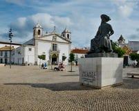 Church of Santa Maria. Praca Infante Dom Henrique square. Lagos, Royalty Free Stock Image