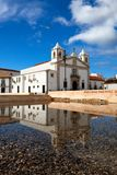 Church of Santa Maria reflected in the water Stock Photos