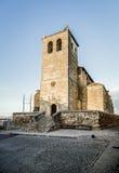 Church of Santa Maria Road, Poblacion de Campo Royalty Free Stock Photography