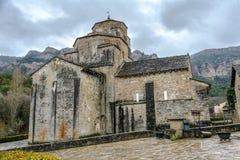 Church of Santa Maria in Santa Cruz de la Seros,  Aragon Spain Royalty Free Stock Images