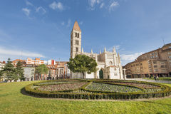 Church of Santa Maria in Valladolid, Spain. Stock Photography