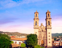 Church of Santa Prisca in Taxco, Mexico Stock Image