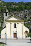 Church Santi Innocenti at Pollegio on  Leventina valley Royalty Free Stock Photography
