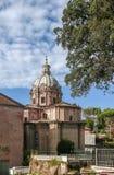Church Santi Luca e Martina, Rome Royalty Free Stock Image