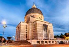 Church of Santi Pietro e Paolo in Rome, Italy Royalty Free Stock Photos
