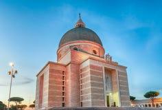 Church of Santi Pietro e Paolo in Rome, Italy Royalty Free Stock Image