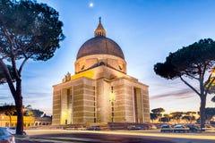 Church of Santi Pietro e Paolo in Rome, Italy Stock Photography